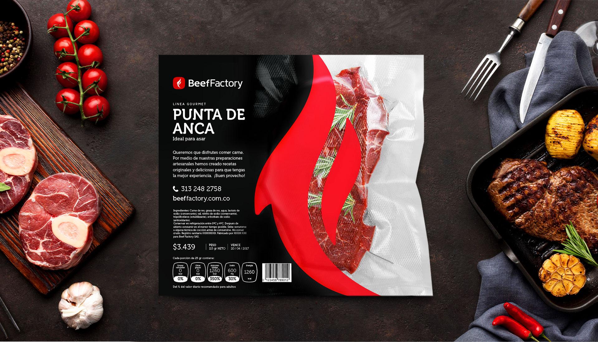 Beef Factory empaque carne al vacío receta gourmet